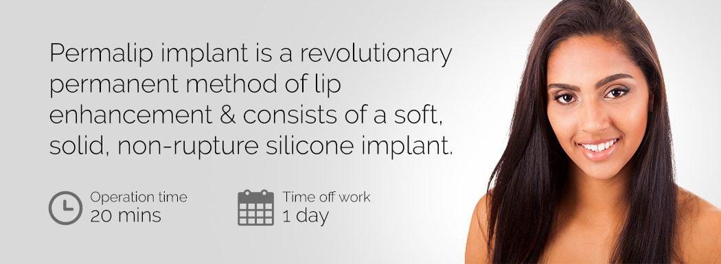 Permalip lip enhancement