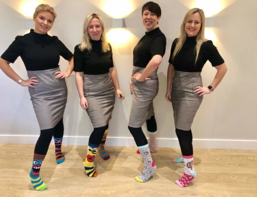 'Sock It!' to Lymphoedema for Lymphoedema Awareness Week